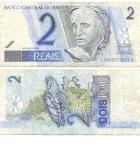monedas del Mundo : America : Brasil :  2 reales