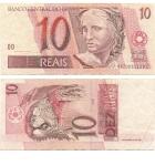monedas del Mundo : America : Brasil :  10 reales