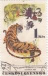 Stamps Czechoslovakia -  ILUSTRACIÓN DE ANIMALES- MIRKO HANAK