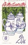 Stamps Czechoslovakia -  CERÁMICA