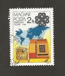 Stamps Hungary -  Año de las comunicaciones mundiales