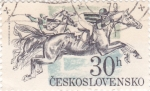 Stamps Czechoslovakia -  HÍPICA