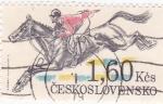 Sellos de Europa - Checoslovaquia -  HÍPICA
