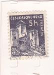 Sellos de Europa - Checoslovaquia -  CASTILLO DE TRENCIN