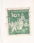Sellos del Mundo : Europa : Checoslovaquia : CASTILLO DE PERNSTEJN