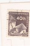 Stamps Czechoslovakia -  CASTILLO DE KREMNICA