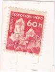 Stamps Czechoslovakia -  CASTILLO DE KARLSTEJN