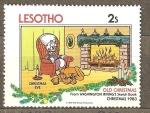 Stamps Africa - Lesotho -  DISNEY