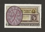 Stamps Hungary -  50 Aniv. Billetes banco