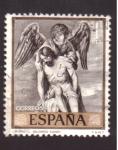 Sellos de Europa - España -  cristo- alonso cano- día del sello