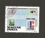 Stamps Hungary -  Congreso Eurocheck, Budapest