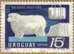 Sellos del Mundo : America : Uruguay : LANA NATURAL - Oveja