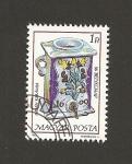 Stamps Hungary -  Jarra cerámica siglos XVI-XVII