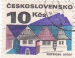 Stamps Czechoslovakia -  CIUDAD DE LIPTOV