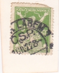 Stamps Czechoslovakia -  ROMPIENDO CADENA