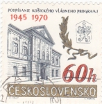Sellos de Europa - Checoslovaquia -  1945-1970 25 ANIVERSARIO
