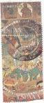 Sellos de Europa - España -  Tapiz de la Creación- Girona-     (R)