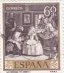 Stamps Spain -  PINTURA-Las Meninas- (Diego Velazquez)  (R)