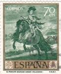 Sellos de Europa - España -  PINTURA-El Príncipe Baltasar Carlos  (Diego Velazquez)  (R)