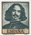 Sellos de Europa - España -  PINTURA- Autorretrato-  (Diego Velazquez)  (R)