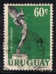 Sellos de America - Uruguay -  Monumento a los aviadores caídos