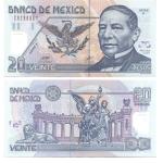 monedas del Mundo : America : México :  20 pesos