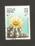 Stamps Laos -  Cactus Astrophytum