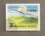 Stamps Hungary -  60 Aniv. Rally Aviación