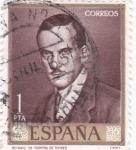Sellos de Europa - España -  PINTURA- Retrato de Romero de Torres) (R)