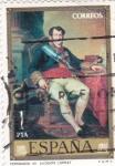 Sellos de Europa - España -  PINTURA- Fernando VII   - (Vicente López Portaña) (R)
