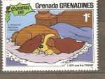 Sellos de America - Granada -  DISNEY