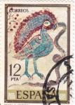 Stamps Spain -  PINTURA- Códices, Girona- (R)