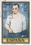 Sellos de Europa - España -  PINTURA- Autorretrato - (Pablo Ruiz Picasso) (R)