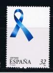Sellos de Europa - España -  Edifil  3501  Lazo azul.