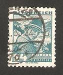 Stamps Austria -  449 - Traje tipico de Salzbur