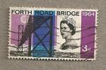 Sellos de Europa - Reino Unido -  Puente de Forth Road