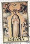 Sellos de Europa - España -  PINTURA-Inmaculada Concepción - (Juan de Juanes) (R)