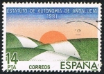 Stamps Spain -  ANDALUCIA
