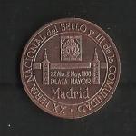 monedas de Europa - España -  V Amiversario del Estatuto de Autonomia de Madrid / anverso.