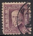 Stamps Czechoslovakia -  Tomáš Garrigue Masaryk