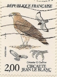 Stamps France -  Circaete Jean le Blanc
