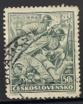 Sellos de Europa - Checoslovaquia -  Legionarios