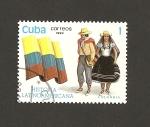 Sellos de Europa - Croacia -  Historia Latinoamericana Colombia
