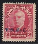 Sellos de America - Honduras -  Manuel Bonilla.(T.S.de C.)