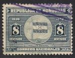 Sellos de America - Honduras -  Bandera Nacional.
