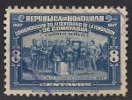 Stamps America - Honduras -  Fundación de la Ciudad de Comayagua 1537