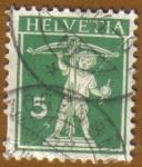 Stamps Europe - Switzerland -  BALLESTA