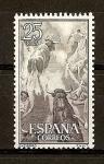 Stamps Spain -  Fiesta Nacional.