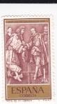 Sellos de Europa - España -  Felipe IV y Luis XIV detalle de un tapíz (R)