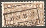 Stamps Belgium -  158 - Ferrocarril